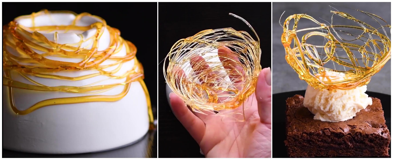 Простые, но очень интересные и креативные украшения ваших блюд