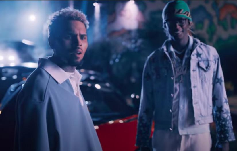 61217 Chris Brown, Young Thug — Go Crazy, новый клип