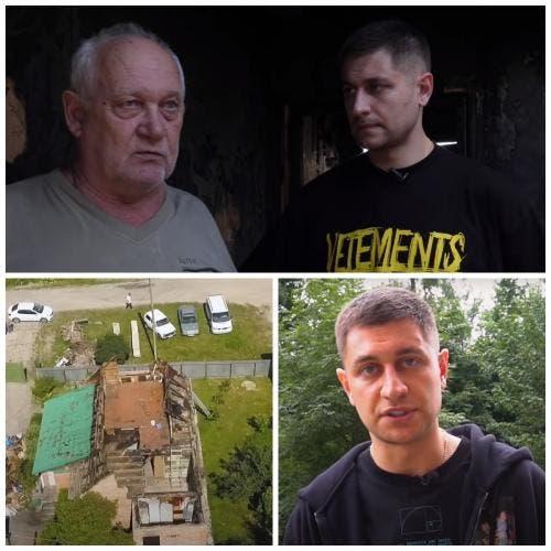 61439 Давид Манукян пытается оправдаться за отказ в помощи погорельцам из Калуги