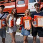 59320 Десятиклассники спасли целый поселок от пожара. Поколение героев!