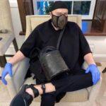 61062 Фадеев не стесняется носить поддельную маску Louis Vuitton