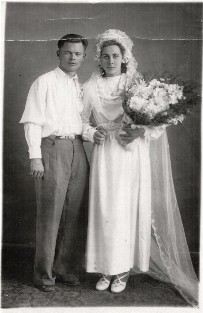 60029 Какими были свадебные платья наших мам и бабушек