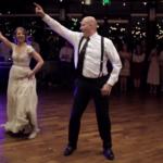 62514 Необычный свадебный танец отца и дочери