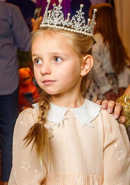 Дочь Татьяны Навки и Дмитрия Пескова Надя