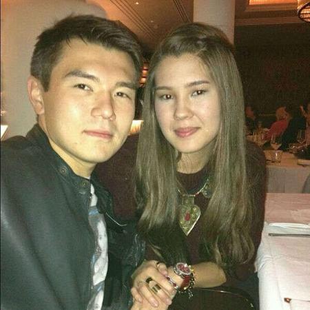Айсултан Назарбаев с женой Алимой