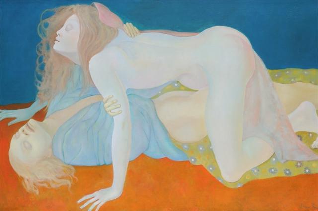 "Картина ""Слепые"", 1968 год"