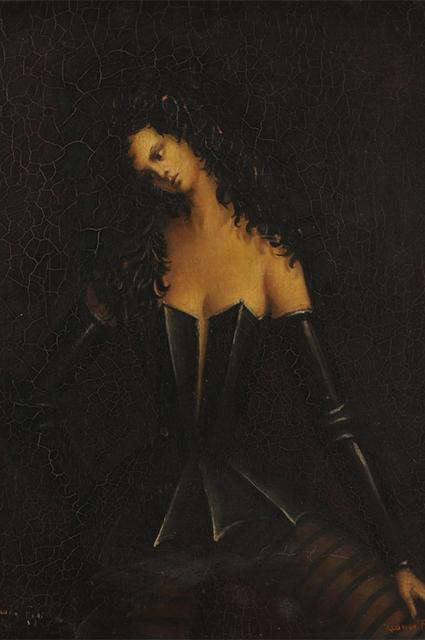 """""""Женщина в доспехах I"""", 1938 год"""