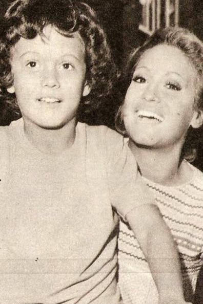 Сюзана с сыном