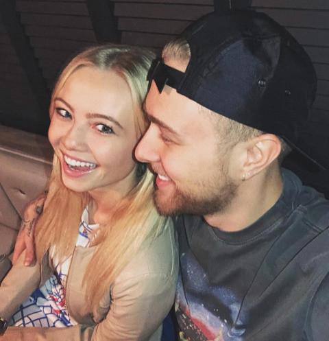 Егор Крид с сестрой Полиной