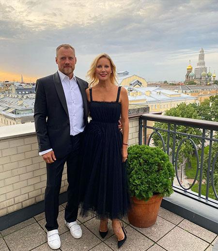 Елена Летучая с мужем