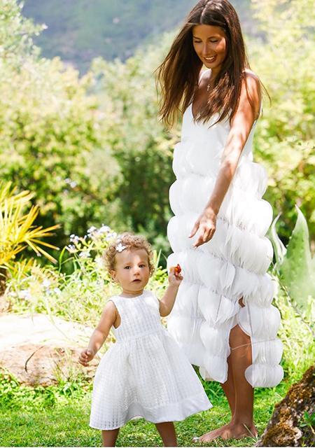 Кети Топурия с дочерью Оливией