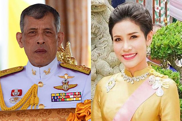 Король Таиланда восстановил в статусе свою фаворитку. По слухам, она почти год провела в тюрьме