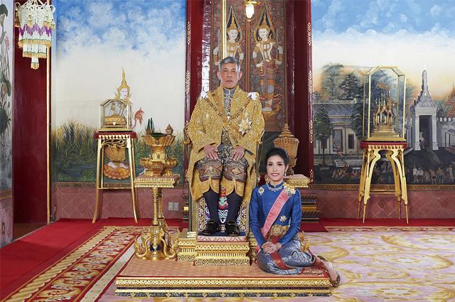 Маха Вачиралонгкорн и Сининат Вонгваджирапакди