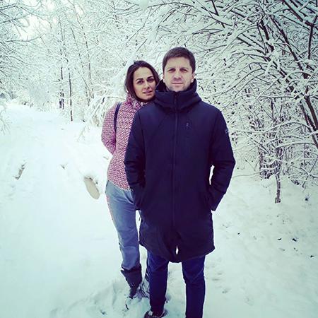 Наталья Эйсмонт с мужем Иваном