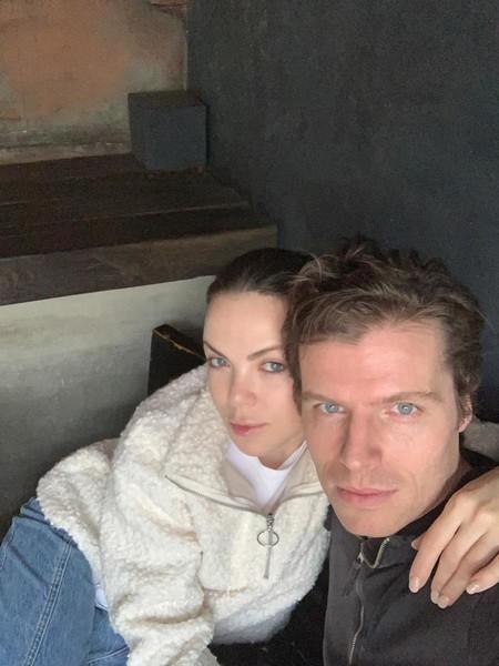 Светлана с мужем Антоном Ларсеном