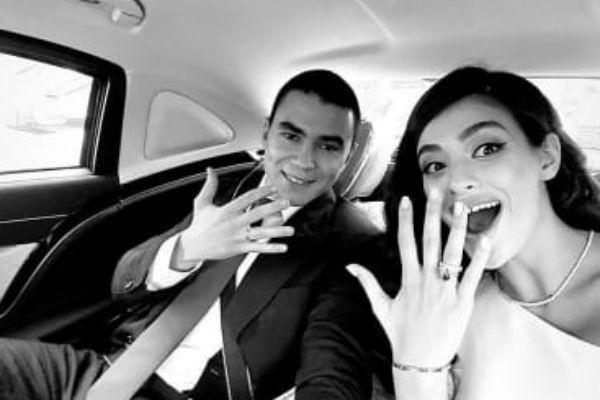 Влюбленные долго планировали свадьбу