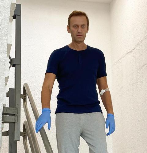 71984 Алексея Навального выписали из немецкой клиники