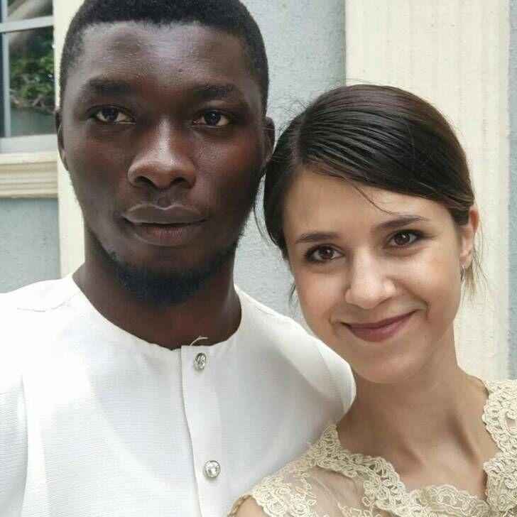 71514 Из Ижевска в Нигерию: русская девушка вышла замуж за африканского принца. Вот как выглядят их детки