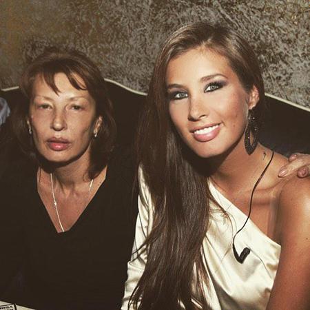 Кети Топурия с мамой Натальей