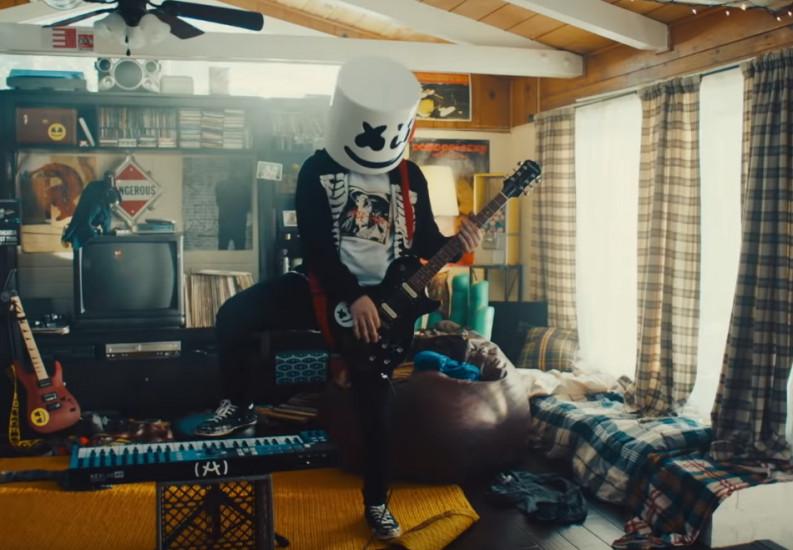 69855 Marshmello and Demi Lovato — OK Not To Be OK, новый клип