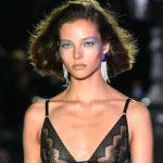 73164 Неделя моды в Париже: Алеся Кафельникова, Сидни Бруна, Тилан Блондо на показе Etam
