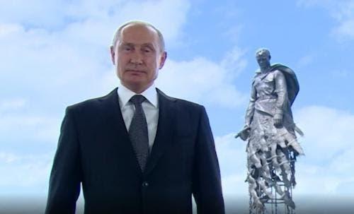 71177 Путин выступил с обращением к гражданам России