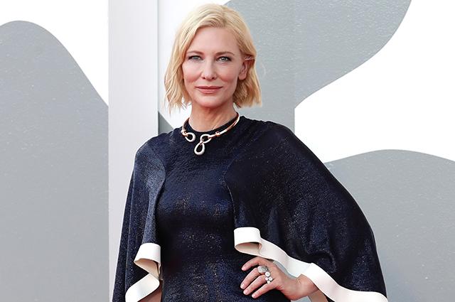 68550 Венецианский кинофестиваль — 2020: Кейт Бланшетт, Тильда Суинтон, Тейлор Хилл и другие звезды на церемонии открытия