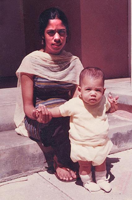Камала Харрис с мамой