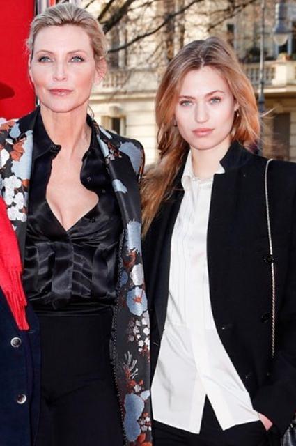 Надя Ауэрман с дочерью