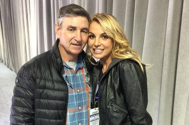 Бритни Спирс с отцом Джейми