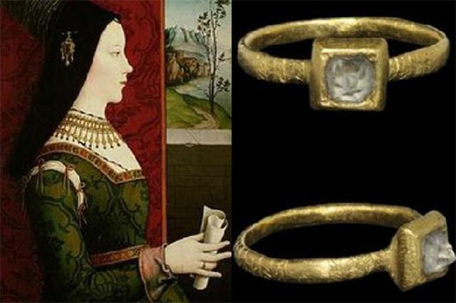 Мария Бургундская и ее обручальное кольцо