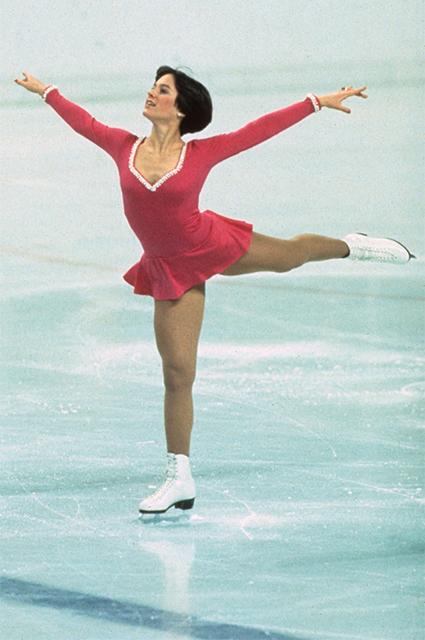 Дороти Хэмилл на Олимпиаде в 1976 году
