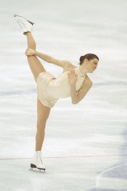 Нэнси Керриган в платье Vera Wang