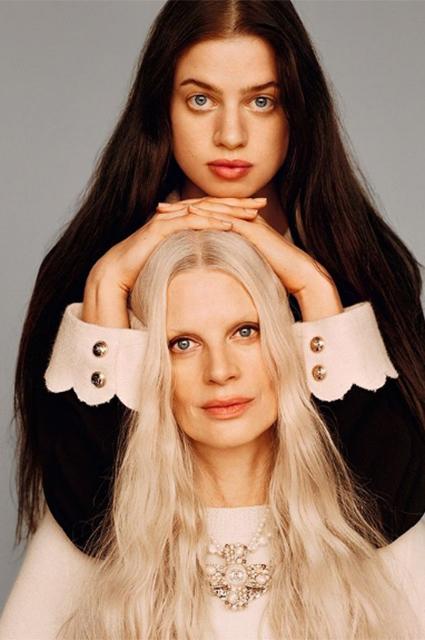 Кристен Макменами с дочерью Лили