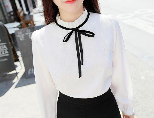 79561 5 стильных способовноситьбелую блузку этимлетом