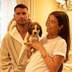 79144 Беременная Кети Топурия опубликовала редкое фото с возлюбленным Львом Деньговым