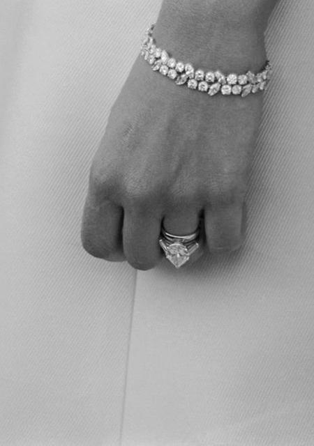 Помолвочное кольцо Миа Фэрроу