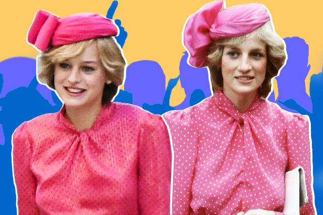 """80246 В жизни и на экране: сравниваем наряды принцессы Дианы из сериала """"Корона"""" с оригиналами"""