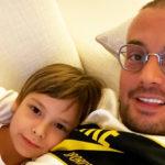 83999 10-летний сын Гуфа и Айзы Долматовой Сами представил свой первый клип