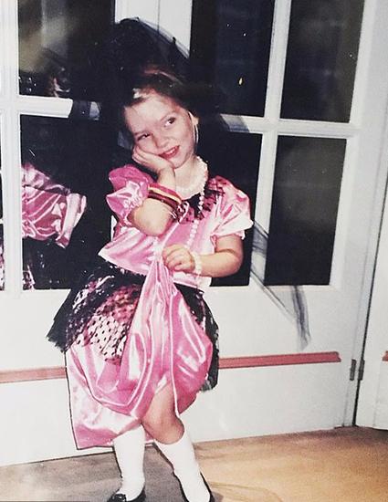 Аня Тейлор-Джой в детстве