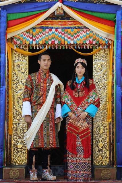 Принцесса Бутана Юфельма Чоден Вангчук и Дашо Тинлай Норбу