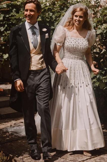 Эдоардо Мапелли-Моцци и принцесса Беатрис