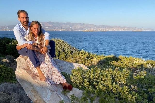Принц Греции и Дании Филипп и Нина Флор