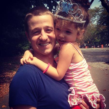Бен Маккензи с дочерью Фрэнсис