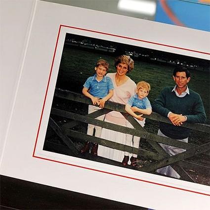 Принцесса Диана и принц Чарльз с сыновьями