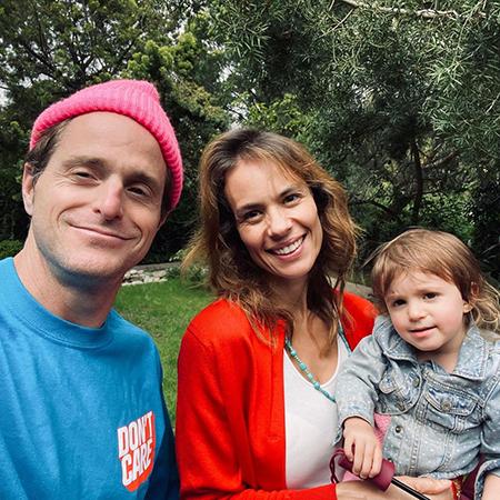 Кэмерон Дуглас и Вивиан Тайбс с дочерью Луа Иззи