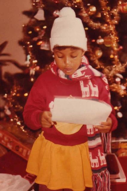 Керри Вашингтон в детстве