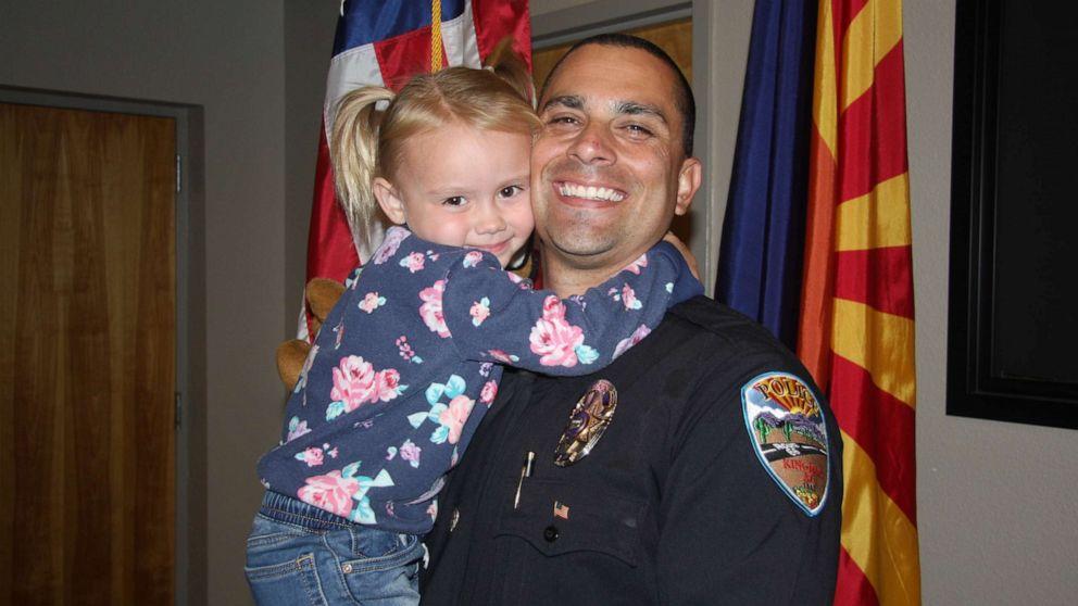 Police Officer Adopts Little Girl He Met On Duty