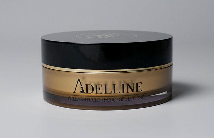 Гидрогелевые патчи с золотом Adelline