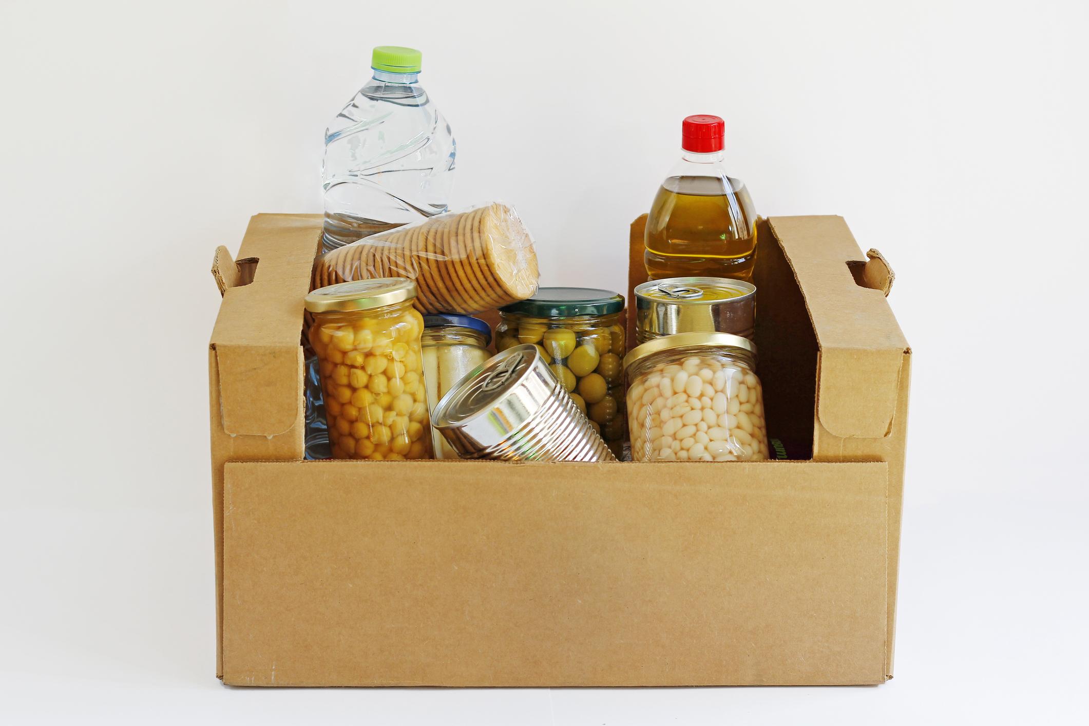 Коробка с продуктами